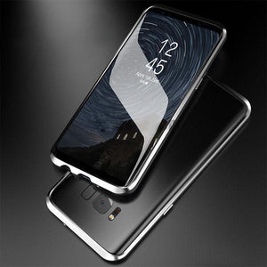 Galaxy S9/S9+, S8/S8+, Note 8 & S7 Edge Electronic Auto-Fit Magnetic Case