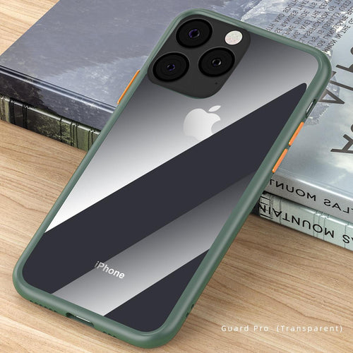 iPhone 11 Pro Cover Shockproof Clear Soft Edge Case