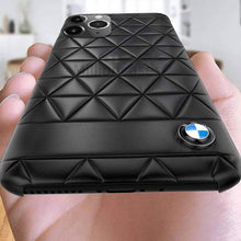 Load image into Gallery viewer, BMW ® iPhone 11 Series Leather Texture Case