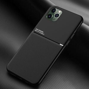 iPhone 11 Carbon Fiber Twill Pattern Soft TPU Case
