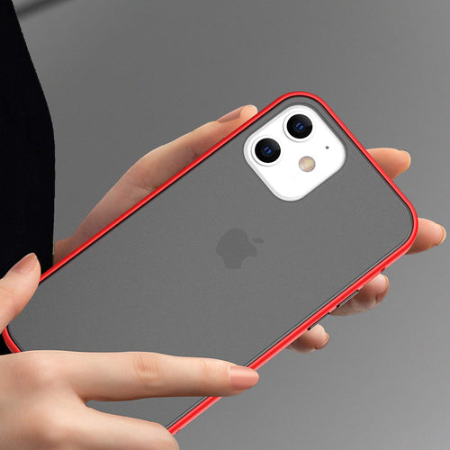 iPhone 12 Mini Luxury Shockproof Matte Finish Case