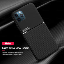 Load image into Gallery viewer, iPhone 12 Series Carbon Fiber Twill Pattern Soft TPU Case