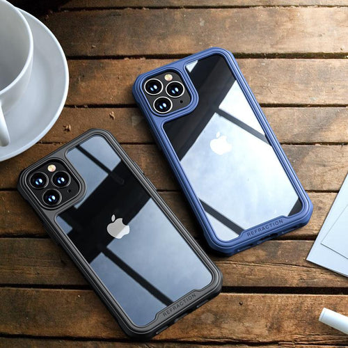 iPhone 12 Mini Durable Shockproof Refraction Fiber Case