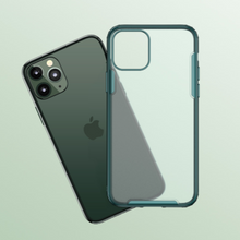 Load image into Gallery viewer, iPhone 11 Pro Max Cover Matte Transparent Case