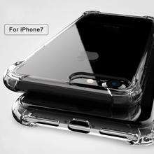 Load image into Gallery viewer, King Kong ® iPhone 8 Plus Anti Shock TPU Transparent Case