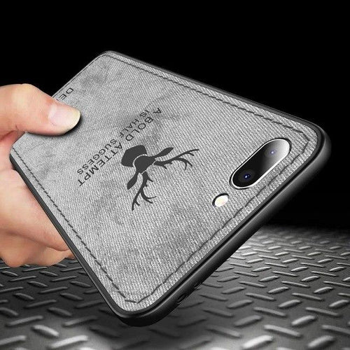 iPhone 8 Plus Deer Pattern Hand-Stitched Water-proof Case