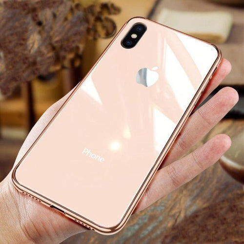 MyCase ® iPhone X Chrome Plating Soft Case