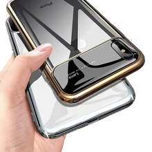 Load image into Gallery viewer, TOTU ® iPhone XS Max Polarized Lens Mirror Transparent Hard Case
