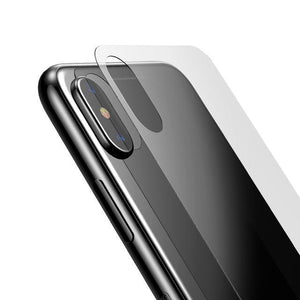 iPhone XS Back Glass Protector Tempered Glass