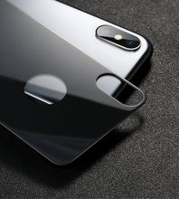 Load image into Gallery viewer, iPhone XS Back Glass Protector Tempered Glass