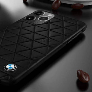 BMW ® iPhone 11 Series Leather Texture Case