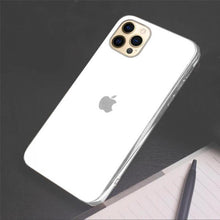 Load image into Gallery viewer, iPhone 12 Pro Max Soft Edge Matte Finish Glass Case