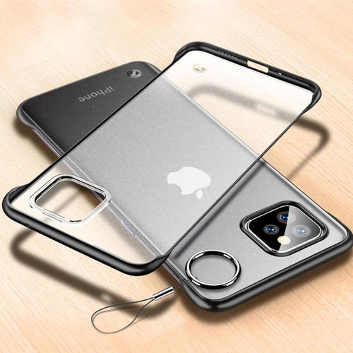 iPhone 11 Series Cover Luxury Frameless Transparent Case