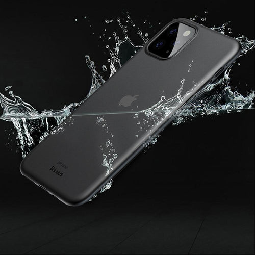 iPhone 11 Pro Max Cover Ultra-Thin Matte Paper Back Case