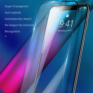 Recci ® iPhone 11 Pro Max Ultra HD Full Coverage Tempered Glass