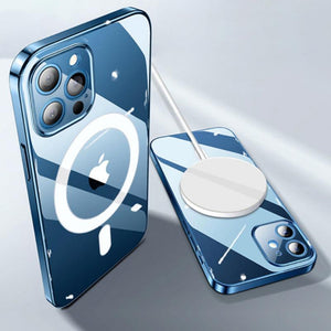 iPhone 12 Anti-Knock TPU Transparent MagSafe Case