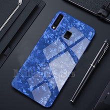 Load image into Gallery viewer, Galaxy M40 Dream Shell Series Textured Marble Case