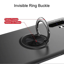 Load image into Gallery viewer, Galaxy Note 10 Plus Metallic Finger Ring Holder Matte Case