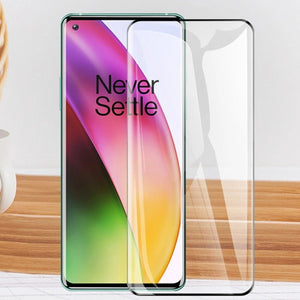 OnePlus 8T Full Coverage Curved Tempered Glass