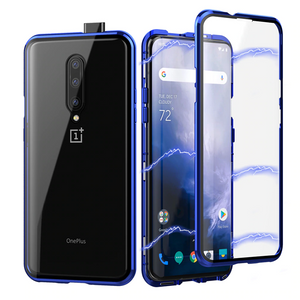 OnePlus 7 Pro Cover Electronic Auto-Fit Magnetic Glass Case