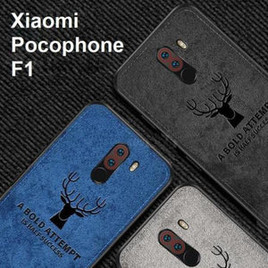 Mi Poco F1 Deer Pattern Inspirational Soft Case