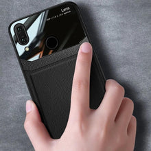 Load image into Gallery viewer, Redmi Note 7 Sleek Slim Leather Glass Case