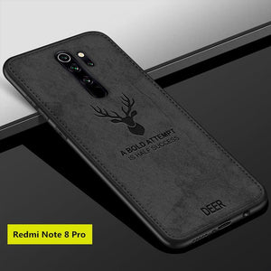 Redmi Note 8 Pro Deer Pattern Inspirational Soft Case