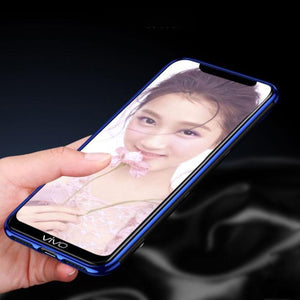 Vivo V15 Pro Electroplating Silicone Transparent Glitter Case