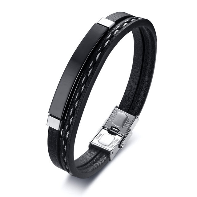 Modern Men's Bands - Black