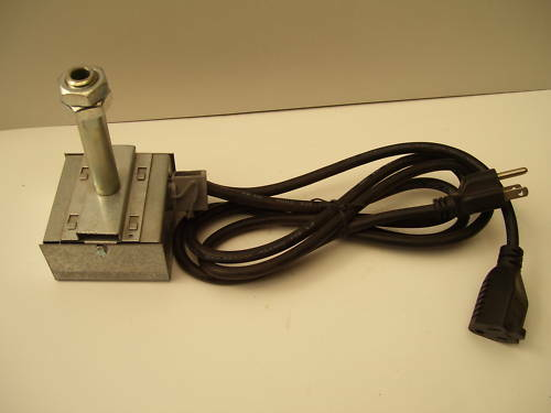 Alaska Coal Stove Power Vent Fume Switch w/cord SKU2572