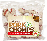 "Pork Chomps Baked Pork Knots 3-4"" 18 Pack"