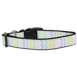 Mirage - Spring Chevron Easter Dog Collar