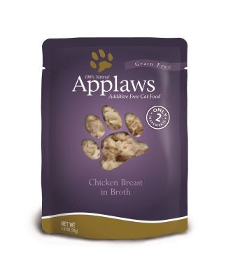 Applaws Chicken Grain Free Cat Food 12 Pack of 2.47oz. Pouches