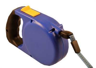 Blue Big Gripper Retractable Lead