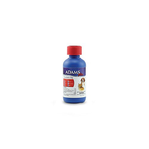 Adams Plus Pyrethrin Dip for Dogs and Cats, 4 oz