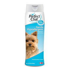 Perfect Coat Gentle Hypoallergenic Dog Shampoo, 16-Ounce