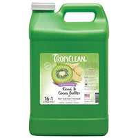 TropiClean Kiwi & Cocoa Butter Pet Conditioner, 2.5 Gallon