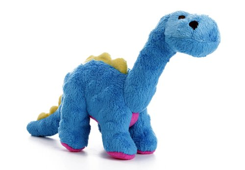 goDog Dinos Bruto Plush Dog Toy