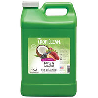 TropiClean Berry & Coconut Deep Cleaning Pet Shampoo, 2.5 Gallon