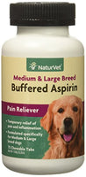 NaturVet Buffered Aspirin Medium & Large Breed, 75ct.