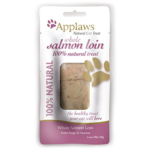 Applaws Whole Salmon Loin Cat Treat, 12 Pack