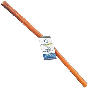 Barkworthies Odor-Free American Bully Stick, 12""