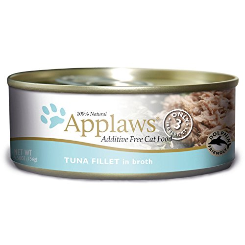 Applaws Tuna Fillet, 24 Pack of  5.5oz Cans