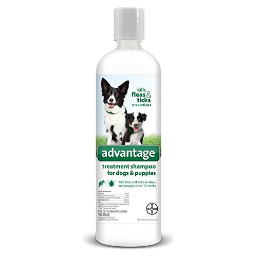 Advantage Flea & Tick Treatment Shamp Dog 24oz