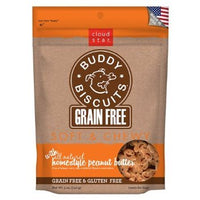 Cloud Star Grain Free Soft and Chewy Buddy Biscuits Dog Treats, Homestyle Peanut Butter, 5oz
