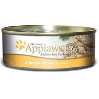 Applaws Chicken Breast, 24 Pack of 5.5oz. Cans