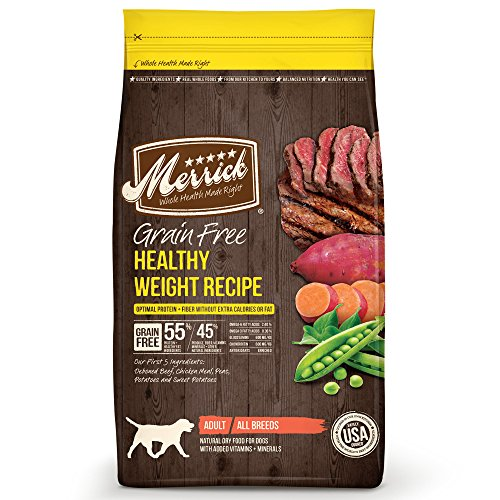 Merrick Grain Free Healthy Weight Recipe Dog Food