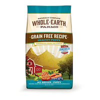 Whole Earth Farms Grain Free Healthy Puppy Dog Food