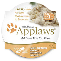 Applaws Chicken Breast & Duck Wet Cat Food 18pk