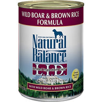 Natural Balance Limited Ingredient Wild Boar & Brown Rice Dog Food, 12 Pack